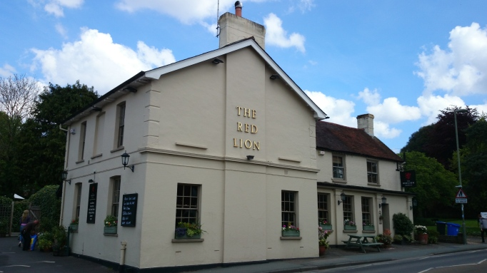 red lion horsell