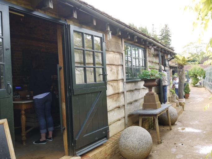 Petersham Nurseries teahouse