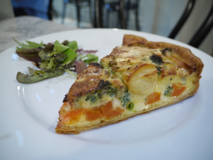 The French Tarte quiche