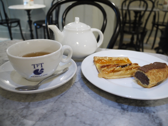 The French tarte tea