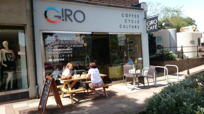 Giro Cycle Cafe Coffee Culture