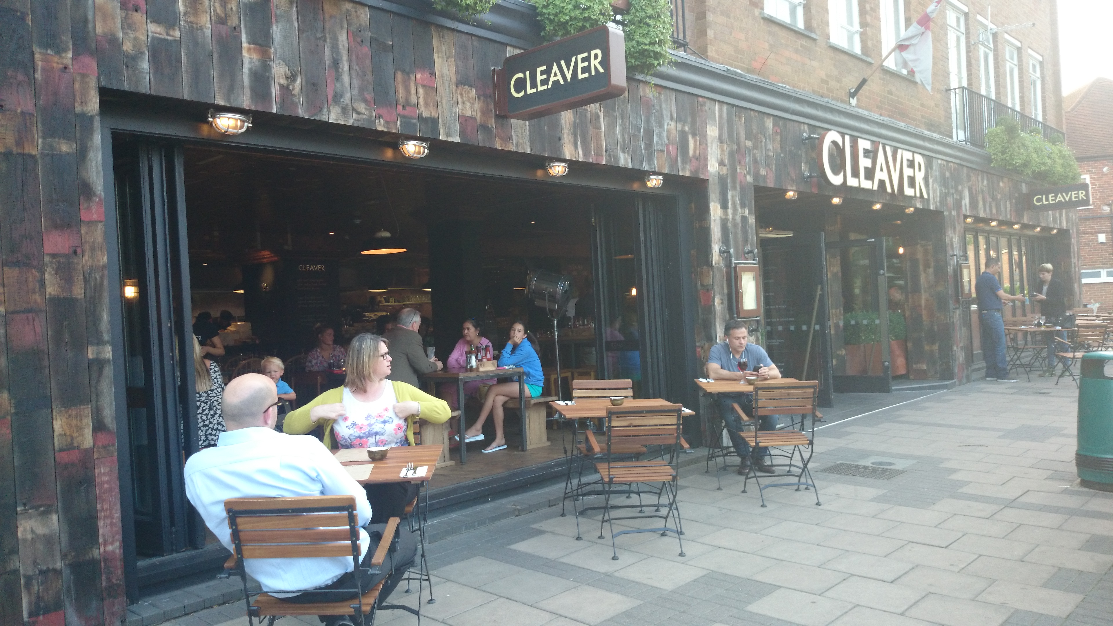 Cleaver ladies who lunch in surrey for 5 star restaurant exterior