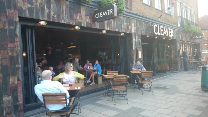 Cleaver Cobham restaurant exterior