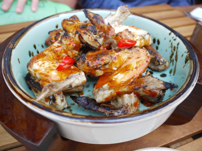 Cleaver Cobham restaurant hot chicken wings