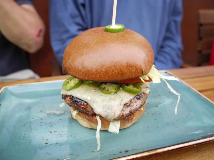Cleaver Cobham burger