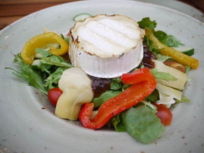Cleaver Cobham goat cheese salad