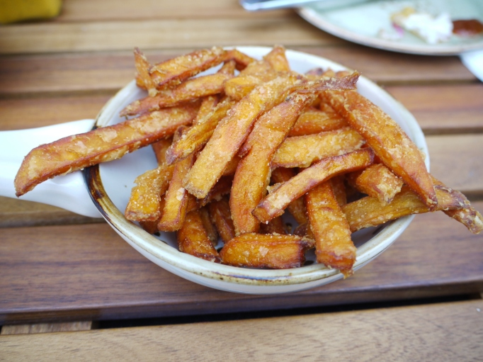 Cleaver Cobham sweet potato fries