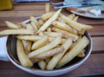 Cleaver Cobham skin on fries