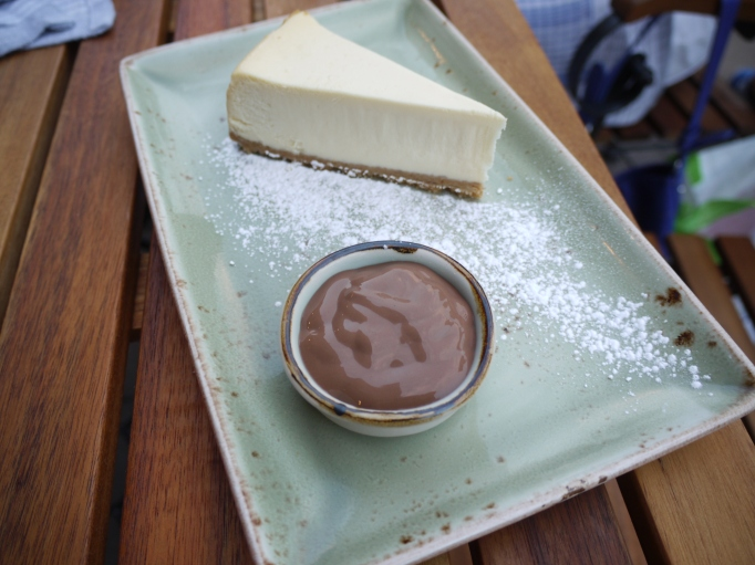 Cleaver Cobham cheese cake dessert