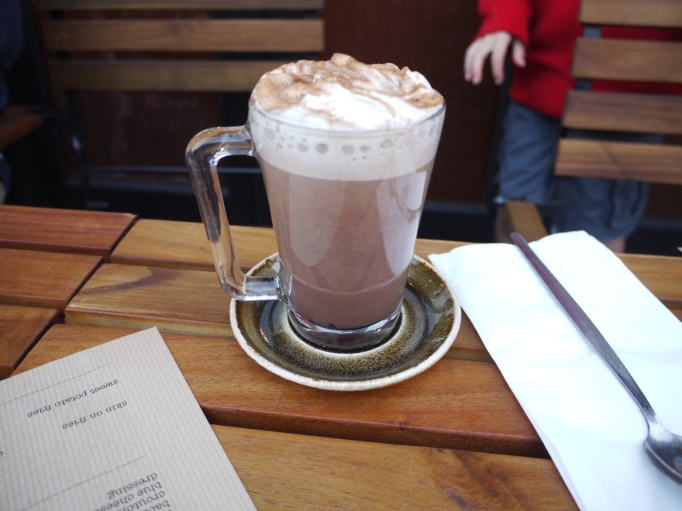 Cleaver Cobham chocolate shake