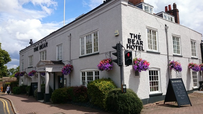 The Bear Esher external