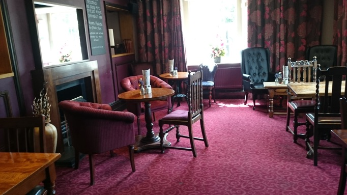 The Bear Esher internal red room