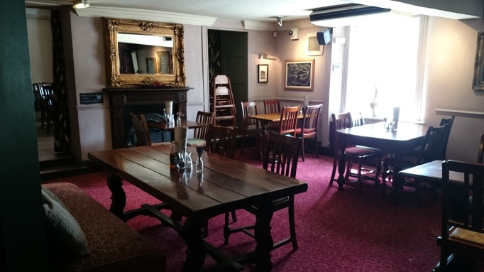 The Bear Esher internal back room
