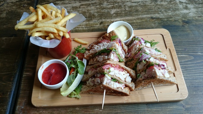 The Bear Esher club sandwich