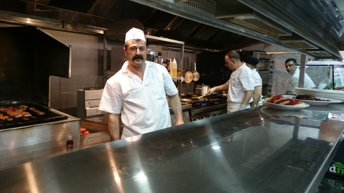 Cappadocia Walton-on-Thames kitchen chefs