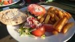 The Weir Walton-on-Thames cheese burger