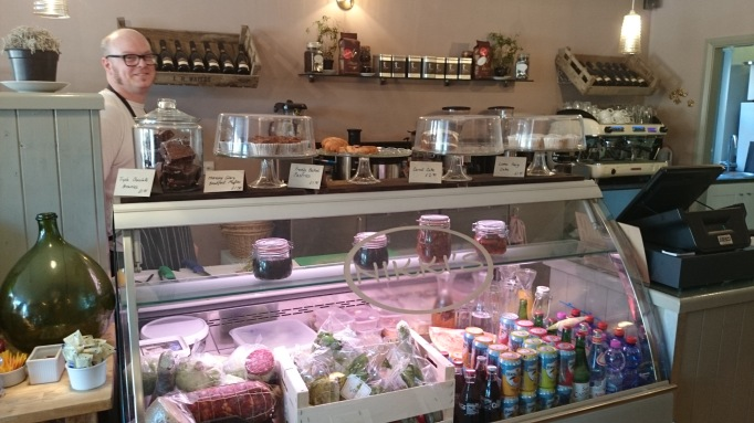 Nikki's Caffe Weybridge internal counter