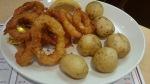 calamari and new potatoes