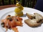 Windmill Ewhurst salmon and Irish soda bread