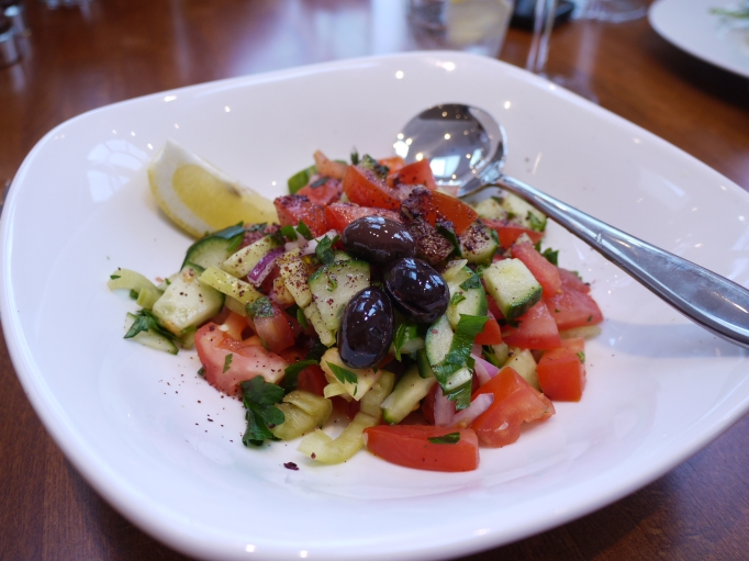 Cappadocia Walton-on-Thames house turkish salad