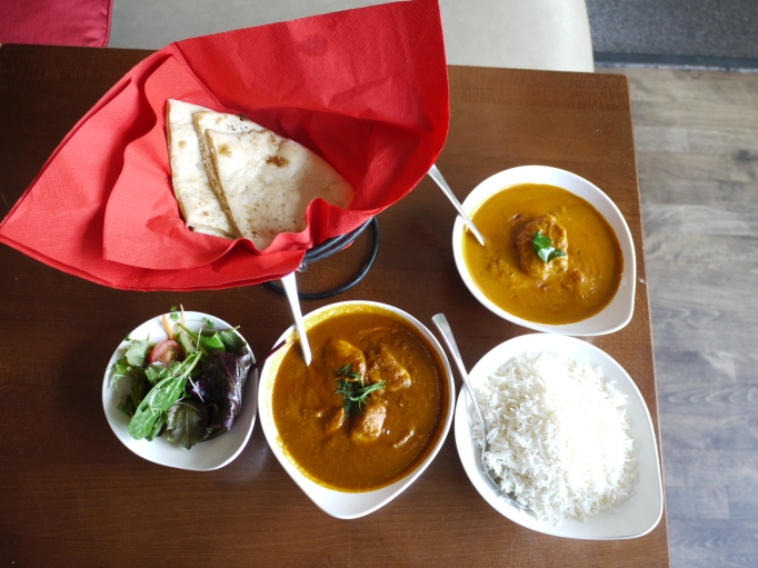 Roz Ana Kingston-Upon-Thames curry lunch