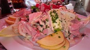Normandy Normandie salade