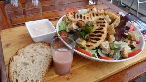 Normandy caesar salad