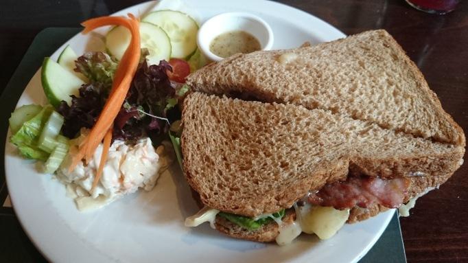 Seven Stars Ripley bacon and brie sandwich