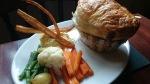 Seven Stars Ripley steak & guiness pie