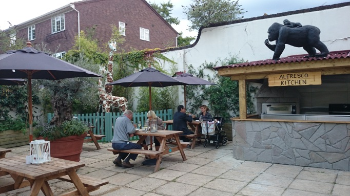 The Tree House Weybridge al fresco seating