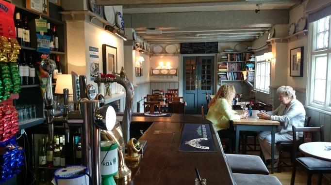 The Plough Effingham interior bar