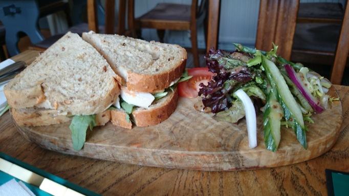 The Plough Effingham sandwich