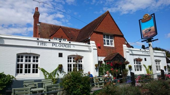 The Plough Effingham exterior