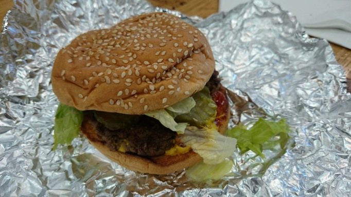 Five Guys Kingston little burger