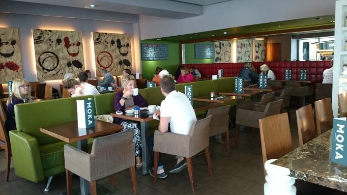 Moka Caffe interior