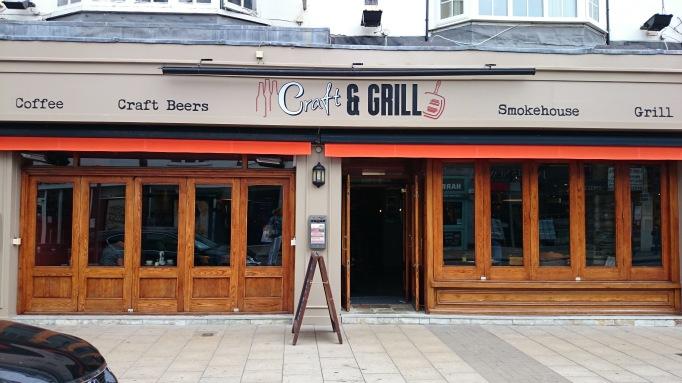 Craft & Grill exterior