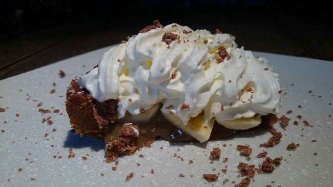 Craft & Grill banofee pie