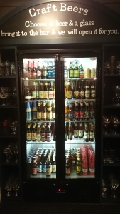 Craft & Grill beer fridge
