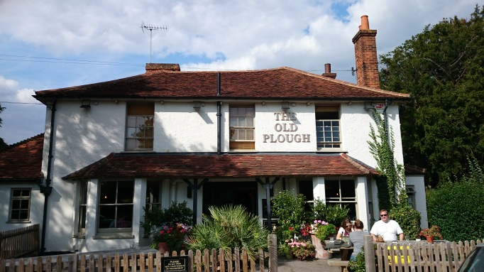 The Old Plough Cobham exterior