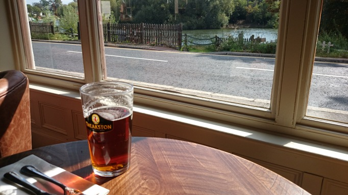 Red Lion Shepperton river view