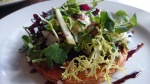 Red Lion Shepperton beetroot and goat cheese tart
