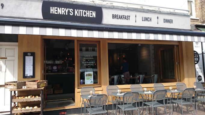 Henry's Kitchen exterior