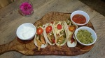 Henry's Kitchen chicken and chorizo fajitas