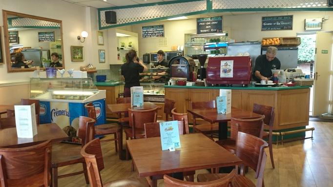 Cafe Aroma Cobham interior