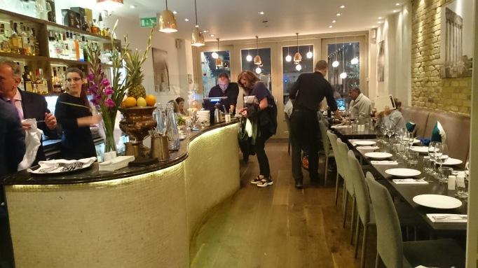 mezzet lebanese restaurant interior