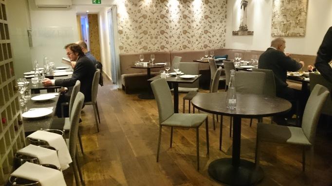 mezzet lebanese restaurant seating area