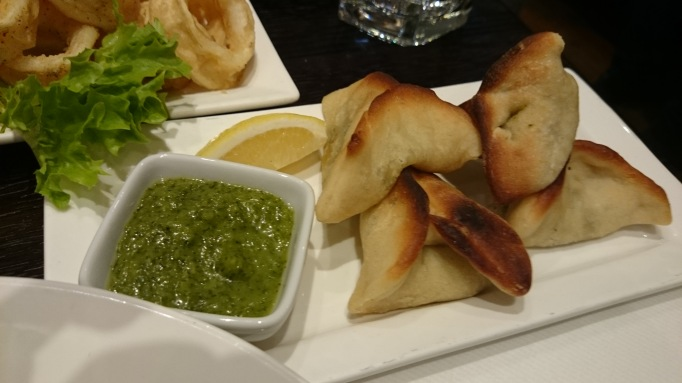 mezzet lebanese restaurant fatayer spinach