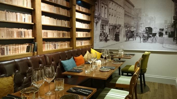 Library dining room at Dar