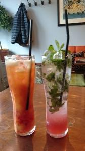 virgin cocktails at Dar
