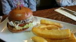 The Foley cheeseburger and triple cooked chips